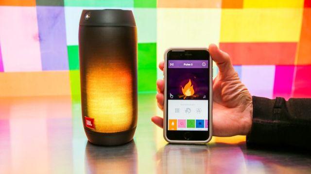 4-coolest-bluetooth-speakers-2017-JBL-PULSE-2-most-colorful-Bluetooth-speaker-app
