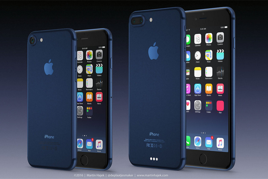 iPhone 7 Comes with New Color Dark Blue