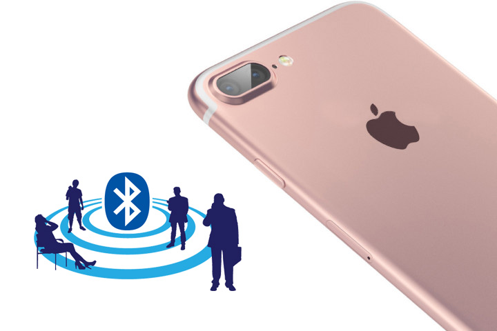 connect bluetooth headphone to iPhone 7