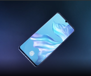 does the huawei P30 P30 Pro have a curved screen 3
