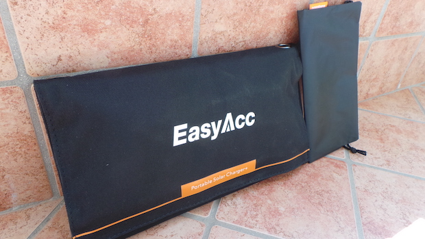 EasyAcc Portable Solar Charger for Recharging Devices: solar charger 2