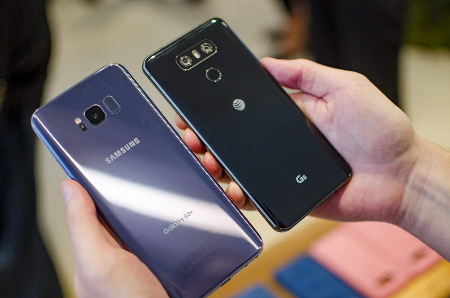 Samsung Galaxy S8 vs LG G6: Which is better? 1