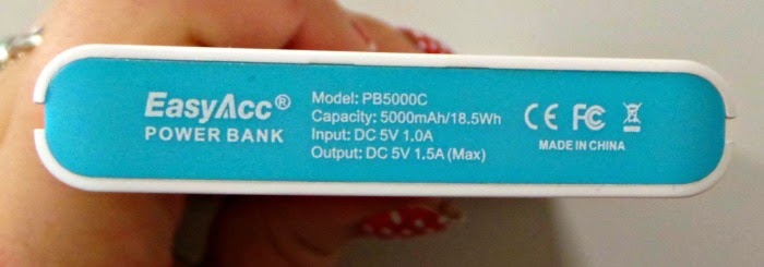 EasyAcc 5000mAh Power Bank Saves You from a Dying Phone-4