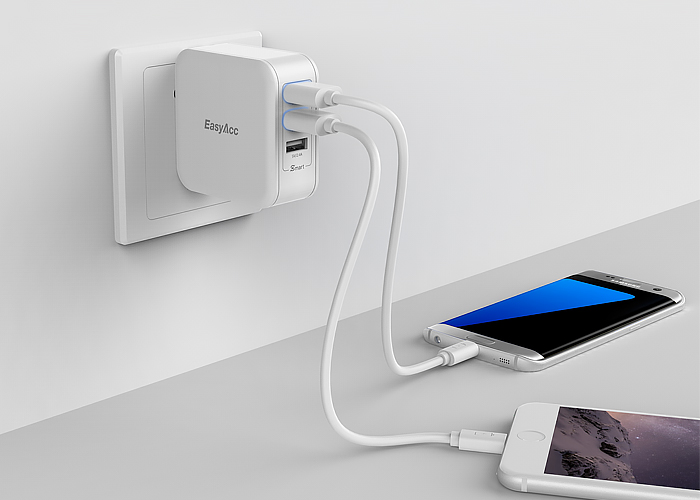 three-ports-wall-charger