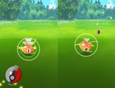 use curveball to catch pokemon