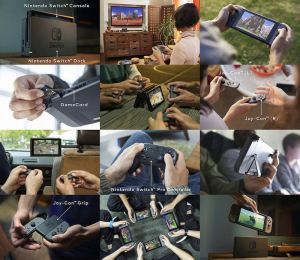 Nintendo-switch-Multiple-game-modes