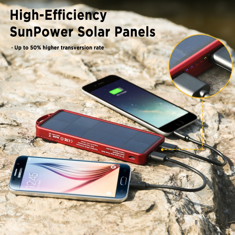 Amazon Giveaway:Best Solar Charger For Your Summer Vacation
