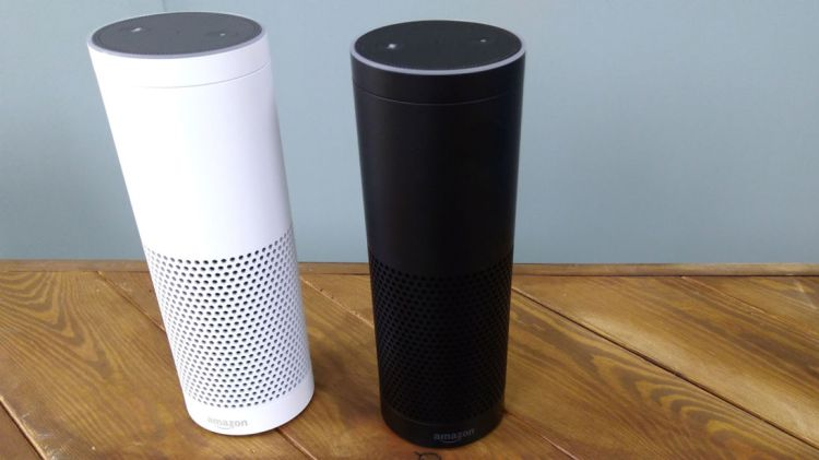 should-i-buy-amazon-echo-or-google-home-Amazon-echo-color-black-and-white