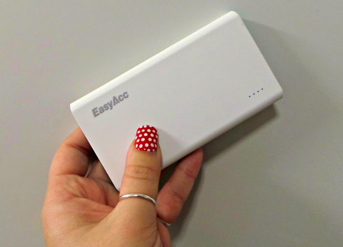 EasyAcc 5000mAh Power Bank Saves You from a Dying Phone: EasyAcc portable charger