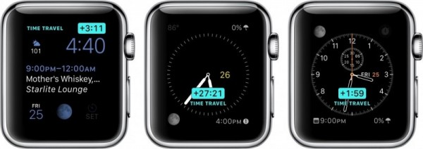 Apple watch timing