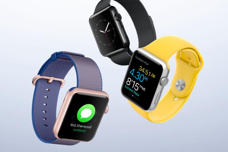 different apple watch