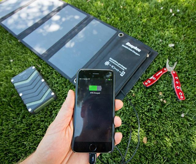 Best Solar Charger for Camping