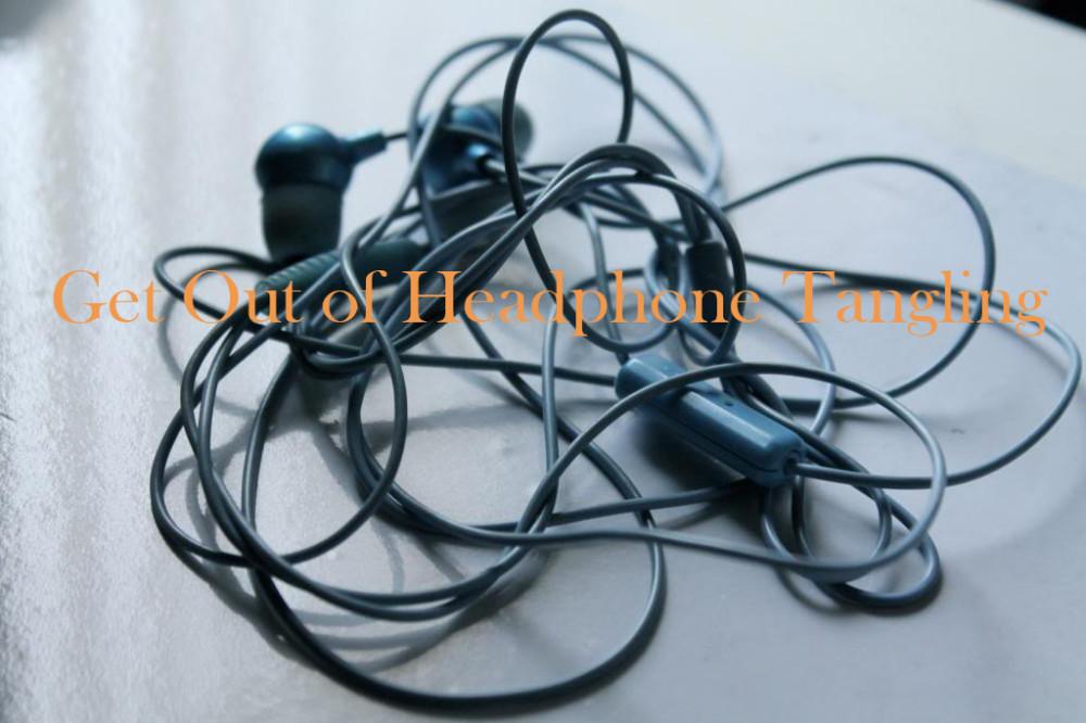 headphone tangling
