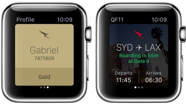 apple watch passport notification