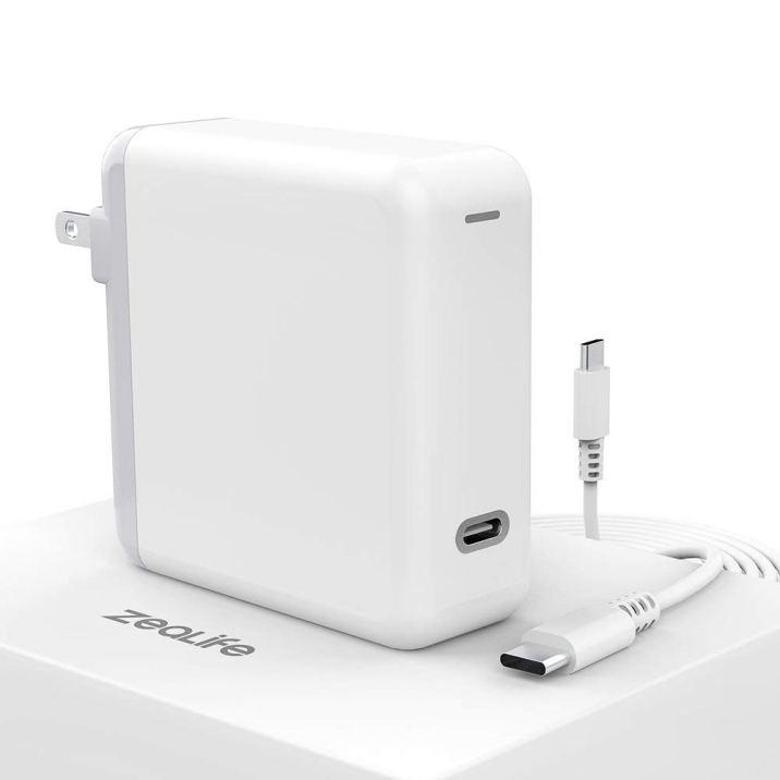 Zealife-61W-USB-C-power-adapter