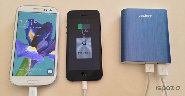 10400mAh power bank can charge How many times