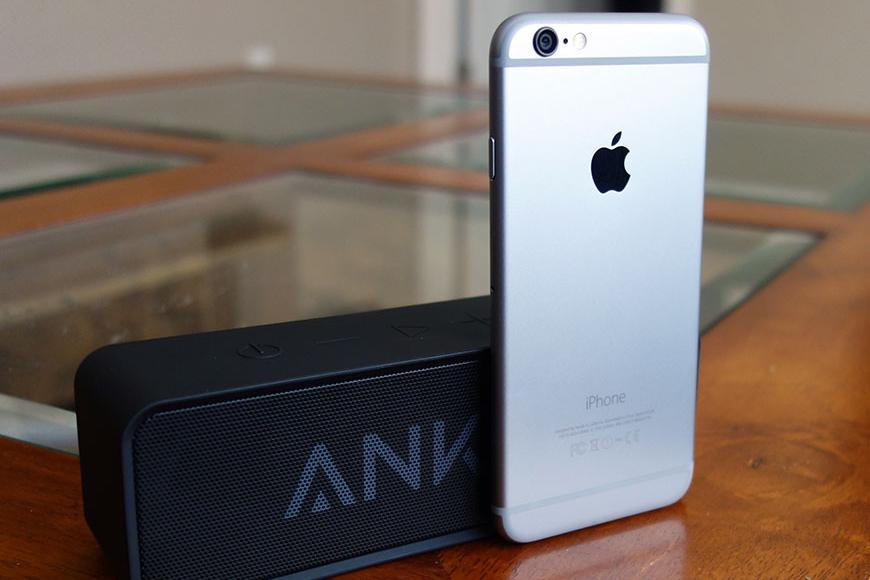 Best Bluetooth Speaker For iPhone:Anker Bluetooth Speaker
