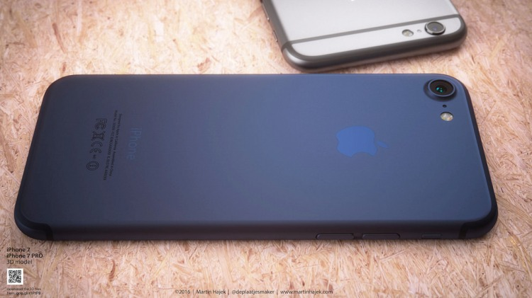 iPhone 7 Comes with New Color Dark Blue 8