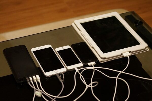 what device you are charging