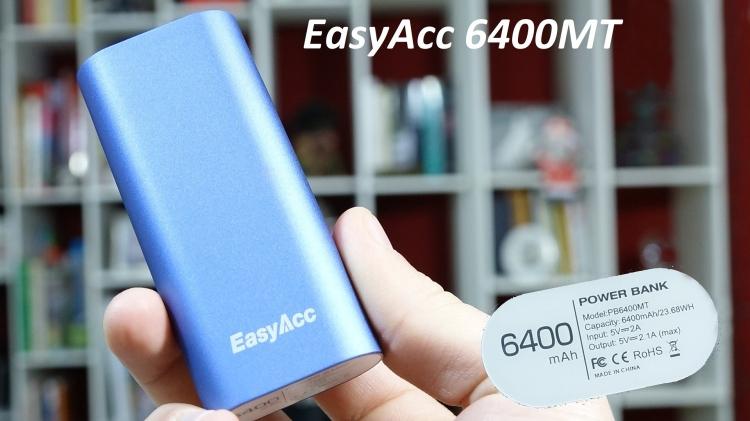 International Spring Break Giveaway: EasyAcc 15000mAh & 6400mAh Power Bank For Spring Break.