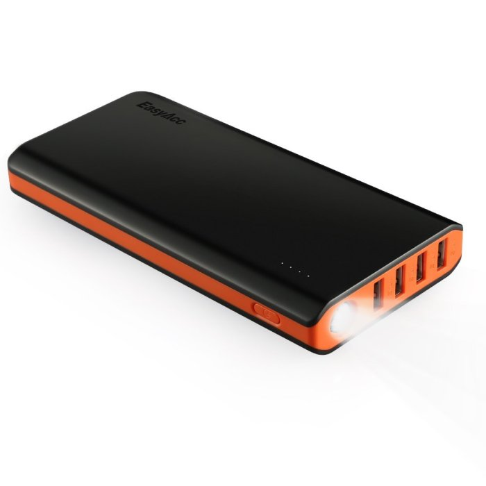 Top 10 Awesome Tech Accessories for smart phones: EasyAcc monster 20000 power bank