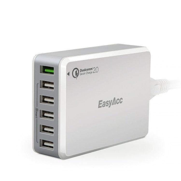 Giveaway EasyAcc USB Charger 6-Port Desktop Charging Station