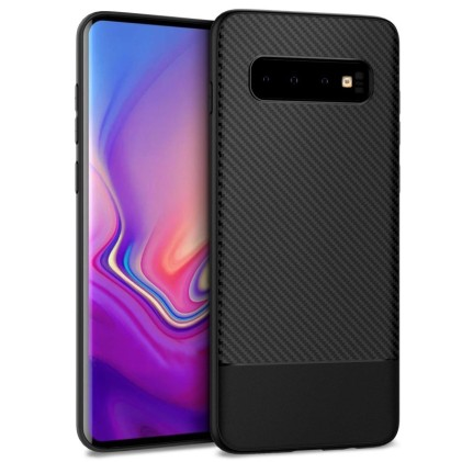 easyacc-black-tpu-case-with-carbon-fiber-texture-for-samsung-galaxy-s10