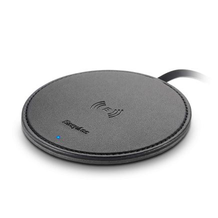 easyacc-10W-double-sided-pu-leather-wireless-charger