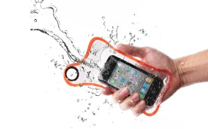 BubbleShield Re-Usable Waterproof Sleeves in summer