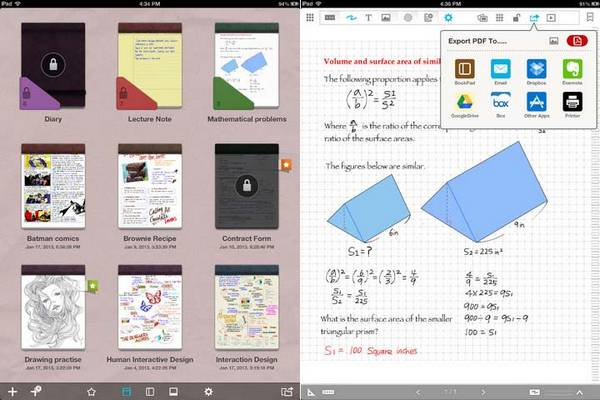 Best Writing Apps for iPad 4