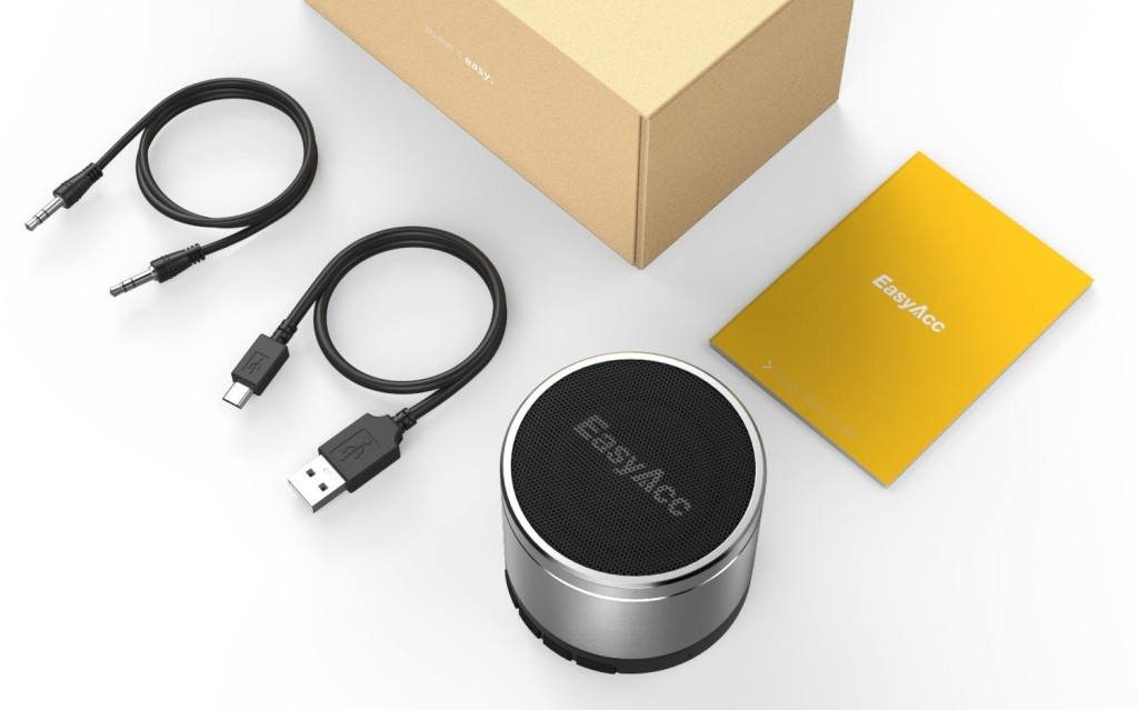 Most Powerful Portable Bluetooth Speaker for 2017, EasyAcc Mini 2