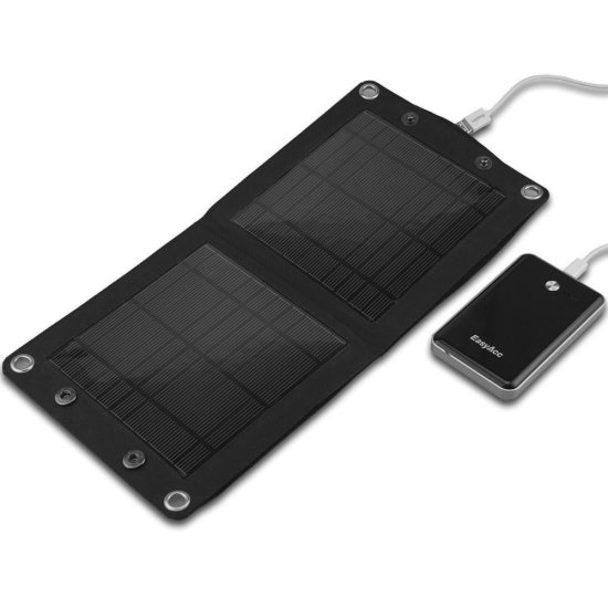 Top 5 Solar Chargers for iPhone: EasyAcc 7W solar charger