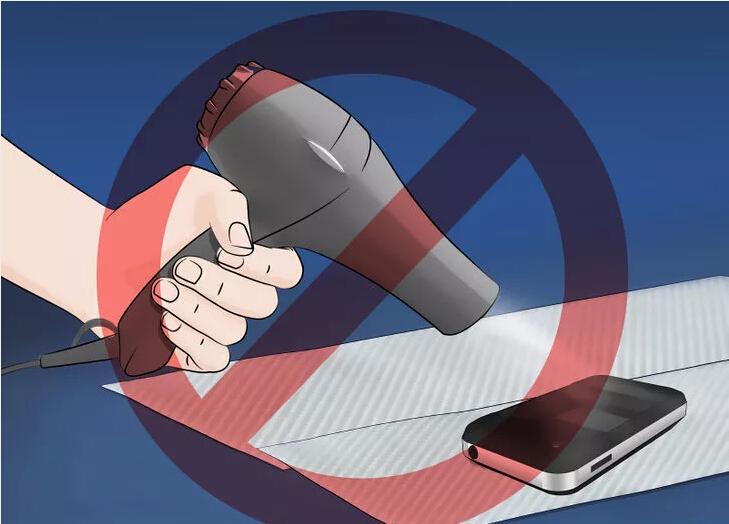 do not blow it