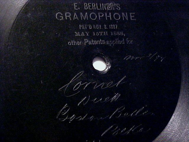 History of modern battery development: berliner disc