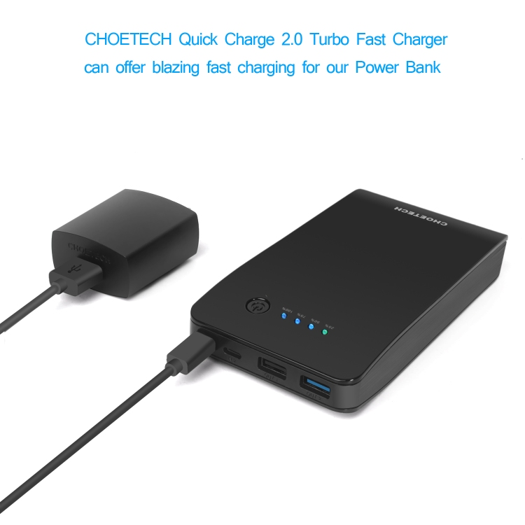 Best Fast Charging Power Bank:CHOETECH