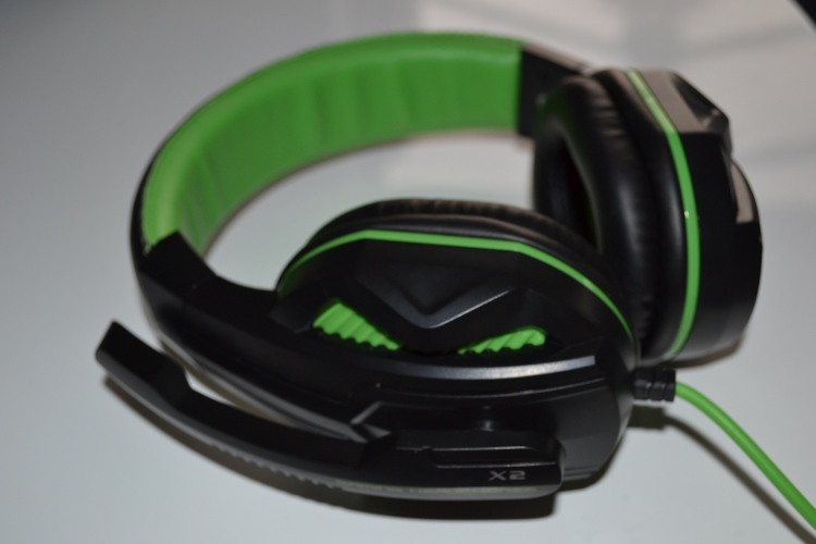 EasyAcc gaming headset green
