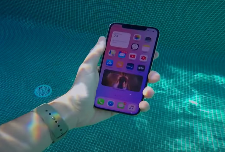 how water-resistant is the iPhone 12 series