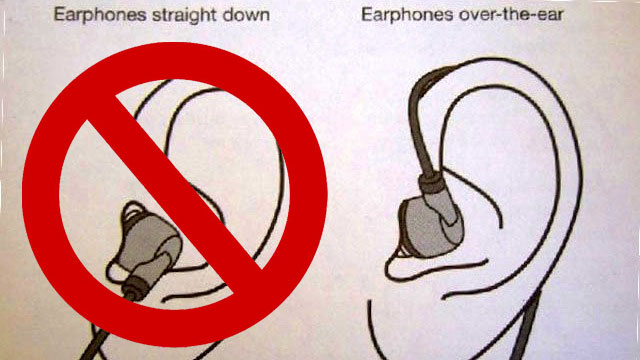 the easiest method to keep earbuds in