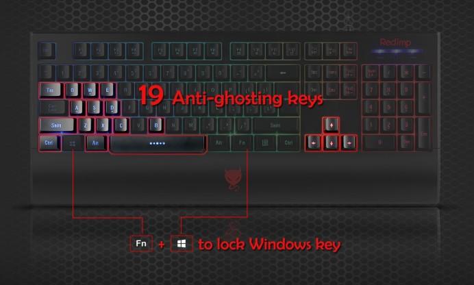 redimp Budget Gaming Keyboard