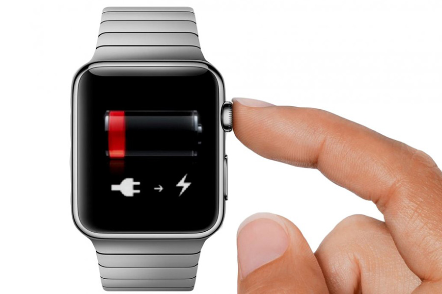 charge apple watch from empty battery