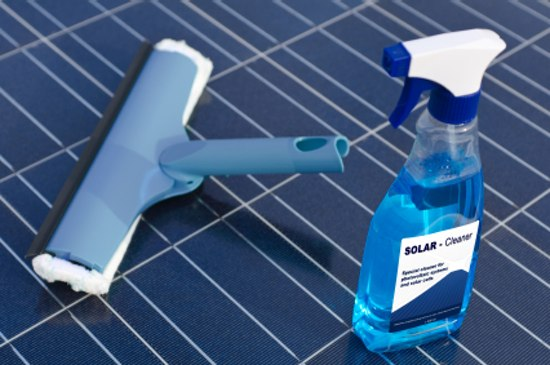 How to Maintain Solar Panels:Purchase a solar panels cleaning kit