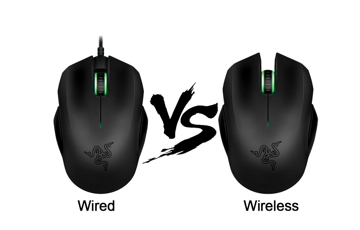 Wireless and Wired Mouse Comparison