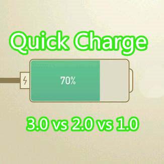 quick charge 3.0 vs 2.0 vs 1.0_