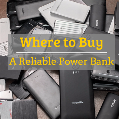 reliable power bank, quality-assured power bank, where to buy,