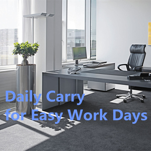 Daily Carry for Easy Work Days--office desk