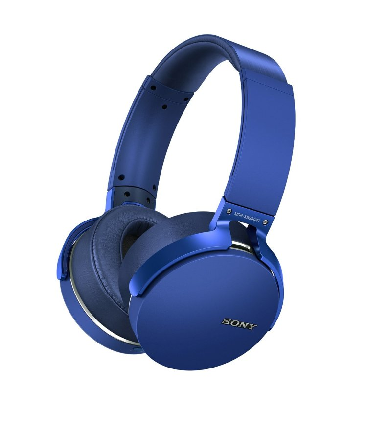 Top 5 Wireless Over-ear Headphones : sony blue