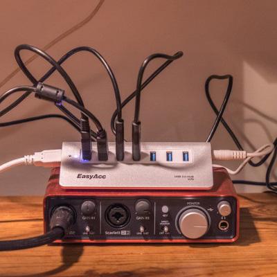 EasyAcc 7 port USB 3.0 hub review