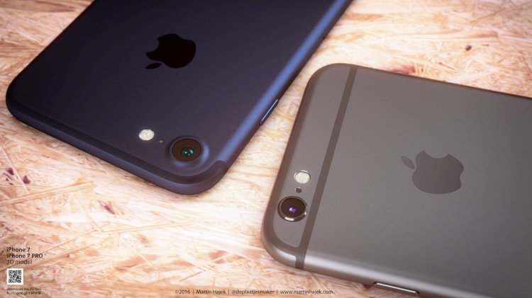 iPhone 7 Comes with New Color Dark Blue 6