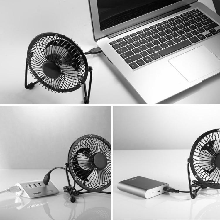 EasyAcc mini fan for summer camping