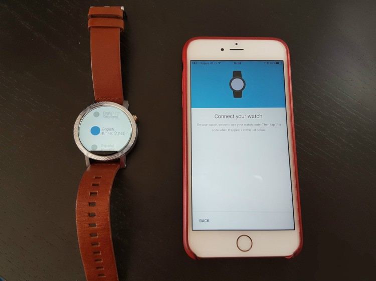 how-to-pair-android-watch-with-iphone-select-language